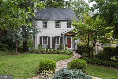 Washington Single Family Home For Sale: 6343 Utah Avenue NW