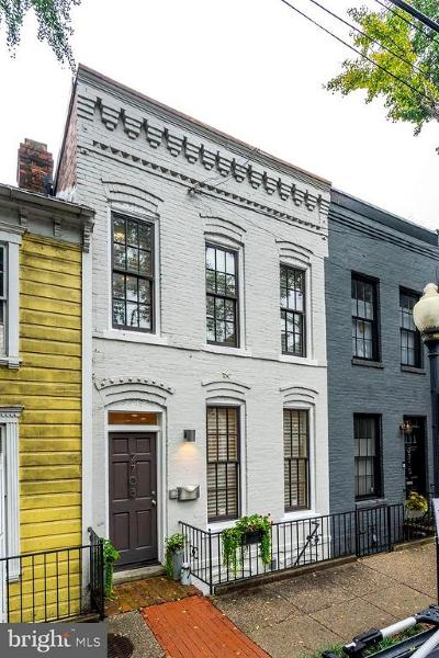 Washington Townhouse For Sale: 2708 Olive Street NW
