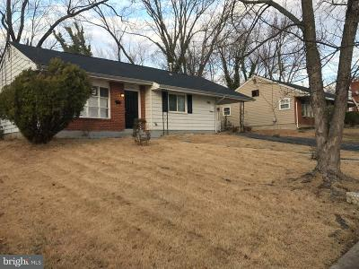 Oxon Hill Single Family Home For Sale: 1310 Birchwood Drive