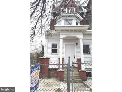 Philadelphia PA Single Family Home For Sale: $225,000