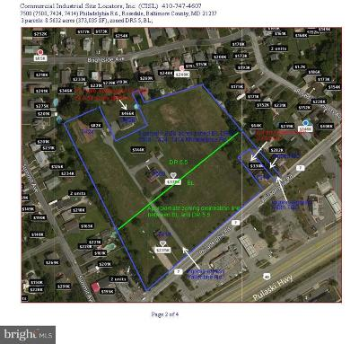 Baltimore County Residential Lots & Land For Sale: 7500 Philadelphia Road