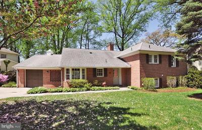 Kensington Single Family Home For Sale: 3308 Wake Drive