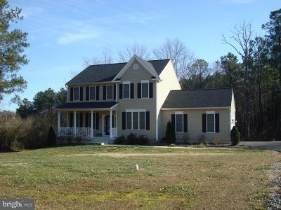 Spotsylvania Single Family Home For Sale: 7218 Marye Road