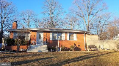 Fairfax County Single Family Home Active Under Contract: 7209 Calamo Street