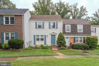 Fairfax Townhouse For Sale: 2925 Ellenwood Drive