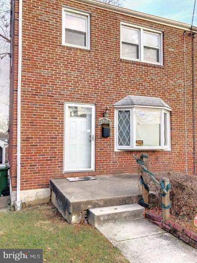 Baltimore Single Family Home Under Contract: 6815 Fairdel Avenue