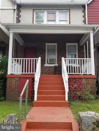 Washington Townhouse For Sale: 1406 S Street SE