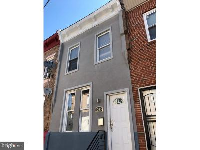 Philadelphia County Townhouse For Sale: 1245 S Bucknell Street