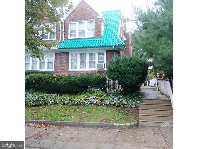 Philadelphia Single Family Home For Sale: 6913 N 19th Street