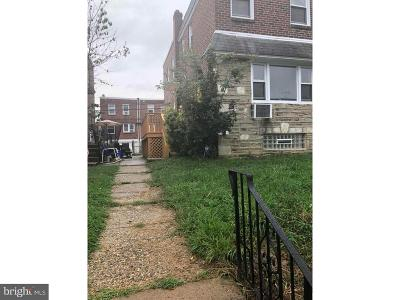 Philadelphia Single Family Home For Sale: 1806 Megargee Street