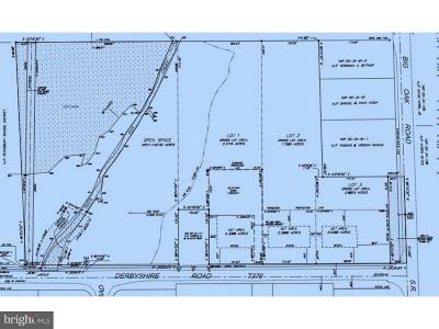 Bucks County Residential Lots & Land For Sale: Derbyshire Road