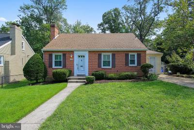 Silver Spring Single Family Home For Sale: 10209 Carson Place