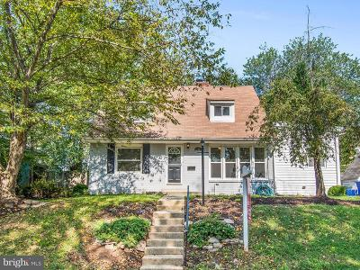 Silver Spring Single Family Home For Sale: 12903 Flack Street