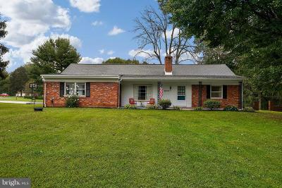 Sykesville Single Family Home For Sale: 6201 Old Washington Road