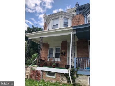Philadelphia Single Family Home For Sale: 5108 N 12th Street