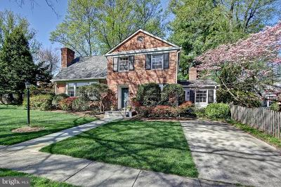 Bethesda Single Family Home For Sale: 5814 Cromwell Drive