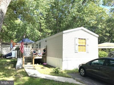 Vineland Single Family Home For Sale: 2110 Mays Landing Road #24