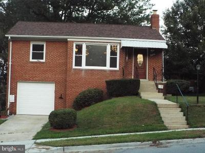 Hyattsville Single Family Home For Sale: 4905 66th Avenue