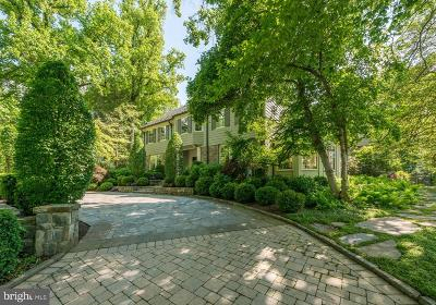 Washington DC Single Family Home For Sale: $7,450,000