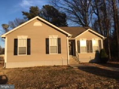 Colonial Beach VA Single Family Home For Sale: $185,000