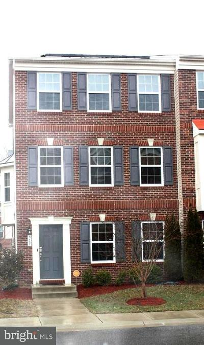 Bryans Road Townhouse For Sale: 3107 Icehouse Place