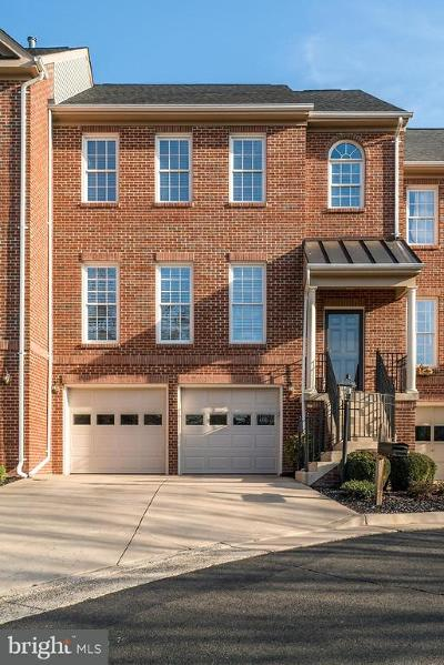 Warrenton Townhouse Active Under Contract: 183 Mosby Circle