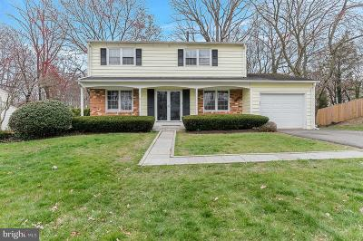 Springfield Single Family Home For Sale: 6723 Huntsman Boulevard