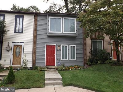 Silver Spring Townhouse For Sale: 10708 Lester Street