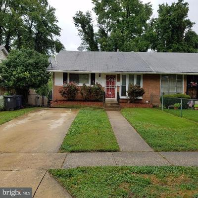 Temple Hills Rental For Rent: 3324 27th Avenue