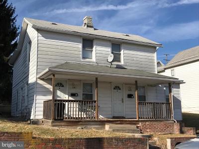 Frostburg Multi Family Home For Sale: 141 Maple Street