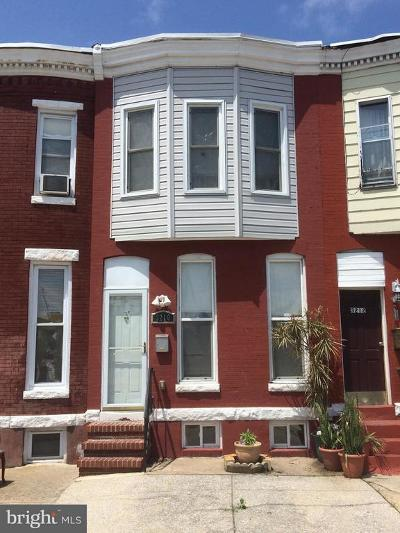 Charles Village Townhouse For Sale: 3210 Barclay Street