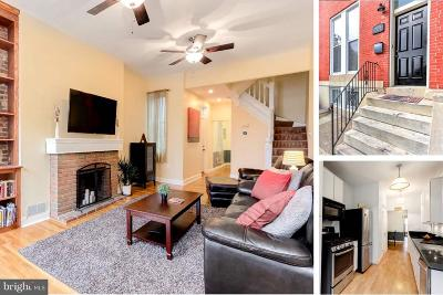 Butchers Hill Townhouse For Sale: 2134 Baltimore Street