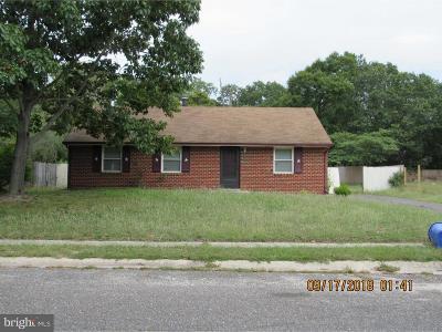 Millville Single Family Home For Sale: 901 Shar Lane Boulevard
