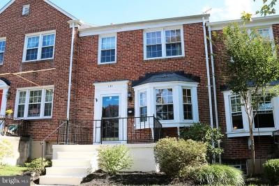 Baltimore County Townhouse For Sale: 141 Stanmore Road