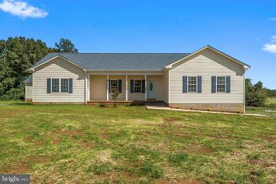 Fauquier County Single Family Home For Sale: Lucky Hill Road