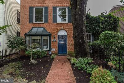 Washington DC Townhouse For Sale: $1,150,000