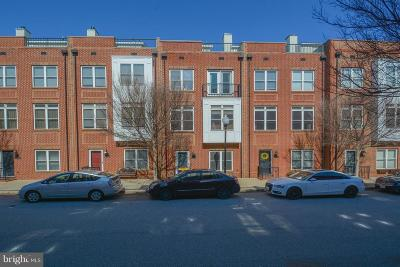 Locust Point Townhouse For Sale: 1422 Benjamin Street