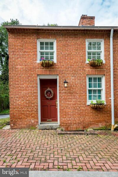 Ellicott City Townhouse For Sale: 780 Oella Avenue