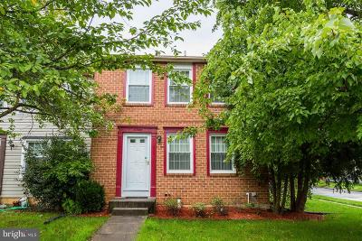 Beltsville Townhouse For Sale: 11450 Horse Soldier Place