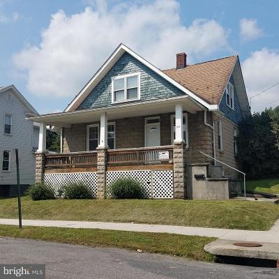 Frostburg Single Family Home For Sale: 143 Wood Street