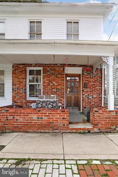 Martinsburg WV Single Family Home For Sale: $39,900
