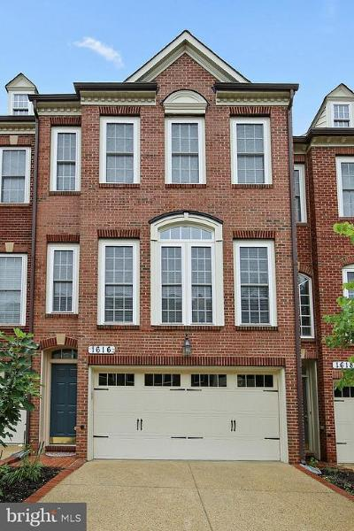Silver Spring Townhouse For Sale: 1616 Regent Manor Court