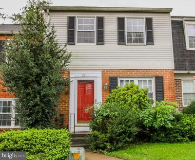 Baltimore Townhouse For Sale: 27 Cardor Court