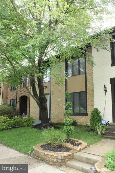 Montgomery Village Townhouse For Sale: 9846 Dairyton Court
