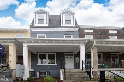 Washington DC Townhouse For Sale: $799,950