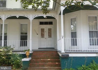 Cambridge MD Single Family Home For Sale: $175,000