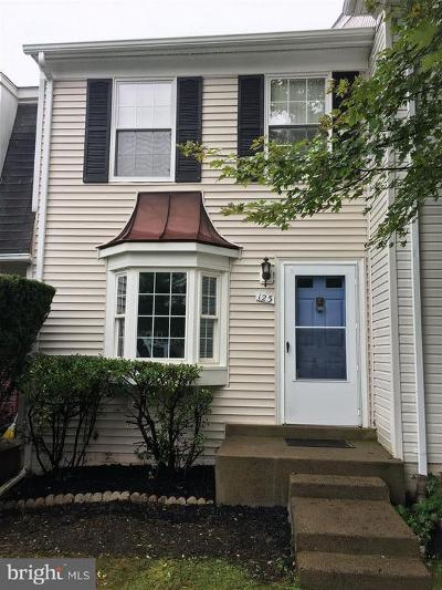 Sterling Townhouse For Sale: 123 Bickel Court