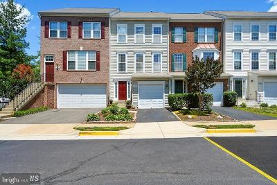 Centreville Townhouse For Sale: 13960 Sawteeth Way