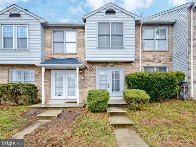 Waldorf Townhouse Active Under Contract: 3202 Westdale Court