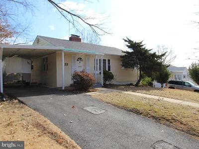 Alexandria Single Family Home For Sale: 33 French Street N